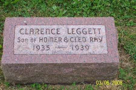 RAY, CLARENCE LEGGETT - Ross County, Ohio | CLARENCE LEGGETT RAY - Ohio Gravestone Photos