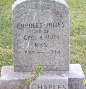 RAY, CHARLES JAMES - Ross County, Ohio | CHARLES JAMES RAY - Ohio Gravestone Photos