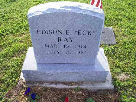 "RAY, EDISON E. ""ECK"" - Ross County, Ohio 