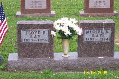 RAY, FLOYD E. - Ross County, Ohio | FLOYD E. RAY - Ohio Gravestone Photos