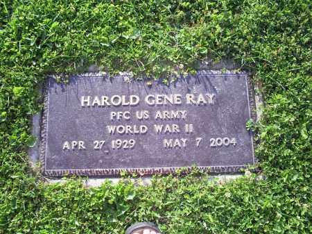 RAY, HAROLD GENE - Ross County, Ohio   HAROLD GENE RAY - Ohio Gravestone Photos
