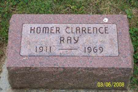 RAY, HOMER CLARENCE - Ross County, Ohio | HOMER CLARENCE RAY - Ohio Gravestone Photos