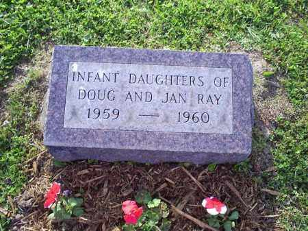 RAY, INFANT DAUGHTERS - Ross County, Ohio | INFANT DAUGHTERS RAY - Ohio Gravestone Photos