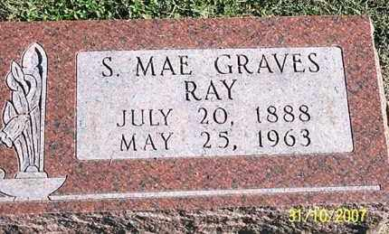 GRAVES RAY, S. MAE - Ross County, Ohio | S. MAE GRAVES RAY - Ohio Gravestone Photos