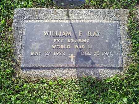 RAY, WILLIAM F. - Ross County, Ohio | WILLIAM F. RAY - Ohio Gravestone Photos
