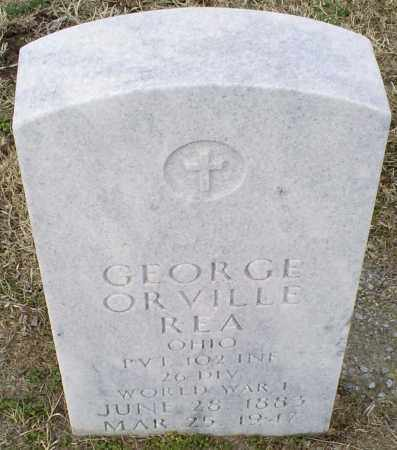 REA, GEORGE ORVILLE - Ross County, Ohio | GEORGE ORVILLE REA - Ohio Gravestone Photos