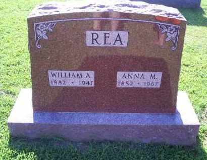 REA, ANNA M. - Ross County, Ohio | ANNA M. REA - Ohio Gravestone Photos