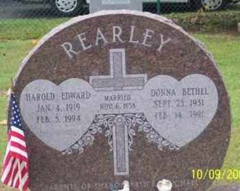 BETHEL REARLEY, DONNA - Ross County, Ohio | DONNA BETHEL REARLEY - Ohio Gravestone Photos