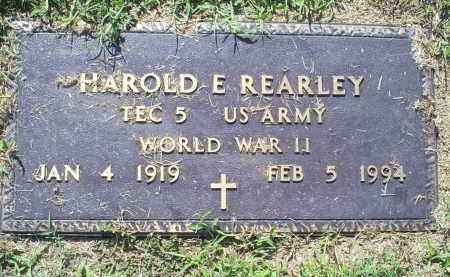 REARLY, HAROLD E. - Ross County, Ohio | HAROLD E. REARLY - Ohio Gravestone Photos