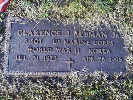REBMAN, CLARENCE J. JR. - Ross County, Ohio | CLARENCE J. JR. REBMAN - Ohio Gravestone Photos