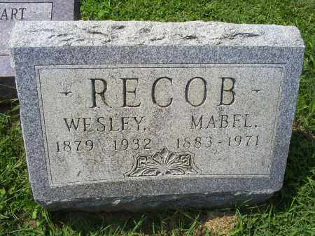 RECOB, WESLEY - Ross County, Ohio | WESLEY RECOB - Ohio Gravestone Photos
