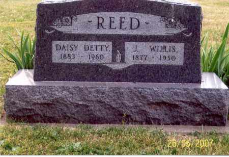 DETTY REED, DAISY - Ross County, Ohio | DAISY DETTY REED - Ohio Gravestone Photos