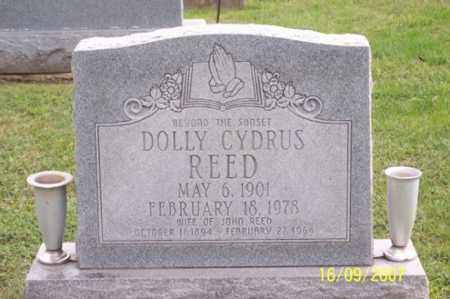CYDRUS REED, DOLLY - Ross County, Ohio | DOLLY CYDRUS REED - Ohio Gravestone Photos