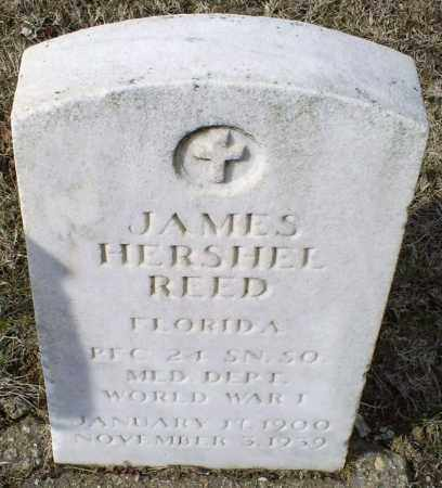 REED, JAMES HERSHEL - Ross County, Ohio | JAMES HERSHEL REED - Ohio Gravestone Photos