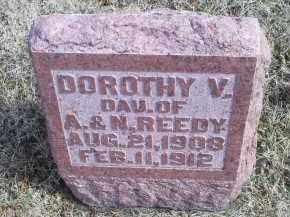 REEDY, DOROTHY V. - Ross County, Ohio | DOROTHY V. REEDY - Ohio Gravestone Photos