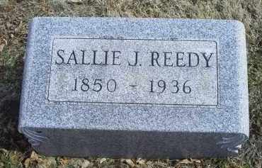 REEDY, SALLIE J. - Ross County, Ohio | SALLIE J. REEDY - Ohio Gravestone Photos