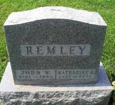REMLEY, JOHN W. - Ross County, Ohio | JOHN W. REMLEY - Ohio Gravestone Photos