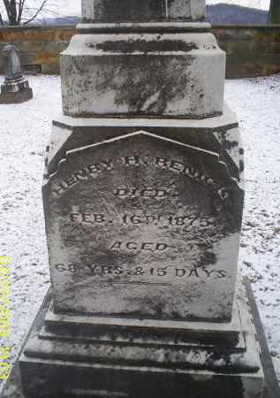 RENICK, HENRY H. - Ross County, Ohio | HENRY H. RENICK - Ohio Gravestone Photos