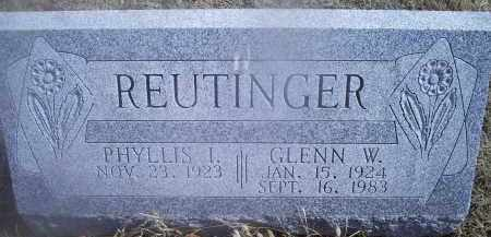 REUTINGER, GLENN W. - Ross County, Ohio | GLENN W. REUTINGER - Ohio Gravestone Photos