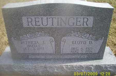 REUTINGER, LLOYD D. - Ross County, Ohio | LLOYD D. REUTINGER - Ohio Gravestone Photos