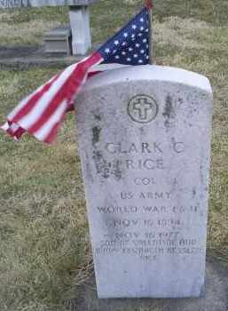 RICE, COL. CLARK C. - Ross County, Ohio | COL. CLARK C. RICE - Ohio Gravestone Photos