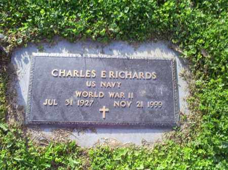 RICHARDS, CHARLES E. - Ross County, Ohio | CHARLES E. RICHARDS - Ohio Gravestone Photos