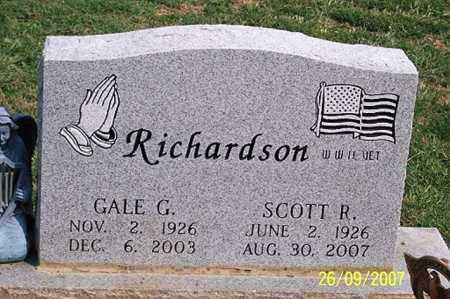 RICHARDSON, SCOTT R. - Ross County, Ohio | SCOTT R. RICHARDSON - Ohio Gravestone Photos