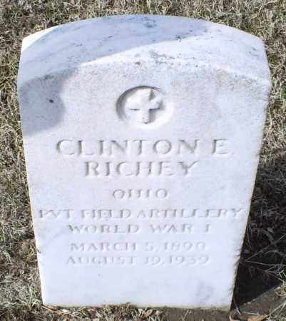RICHEY, CLINTON E. - Ross County, Ohio | CLINTON E. RICHEY - Ohio Gravestone Photos
