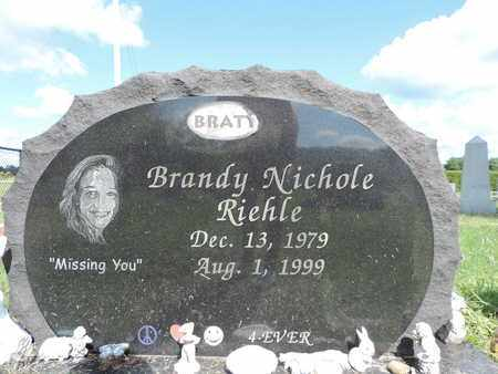 RIEHLE, BRANDY NICHOLE - Ross County, Ohio | BRANDY NICHOLE RIEHLE - Ohio Gravestone Photos