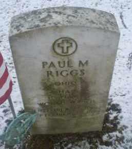 RIGGS, PAUL M. - Ross County, Ohio | PAUL M. RIGGS - Ohio Gravestone Photos