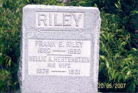RILEY, FRANK E. - Ross County, Ohio | FRANK E. RILEY - Ohio Gravestone Photos