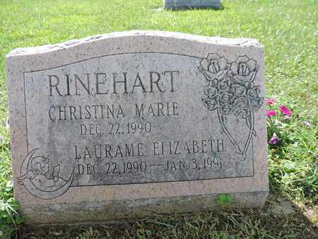 RINEHART, CHRISTINA MARIE - Ross County, Ohio | CHRISTINA MARIE RINEHART - Ohio Gravestone Photos