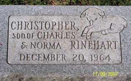 RINEHART, CHRISTOPHER - Ross County, Ohio | CHRISTOPHER RINEHART - Ohio Gravestone Photos