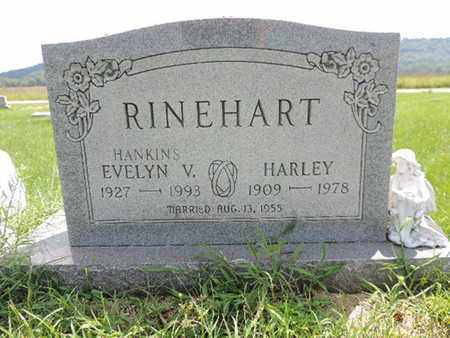 HANKINS RINEHART, EVELYN V. - Ross County, Ohio | EVELYN V. HANKINS RINEHART - Ohio Gravestone Photos