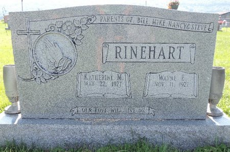 RINEHART, WAYNE E. - Ross County, Ohio | WAYNE E. RINEHART - Ohio Gravestone Photos
