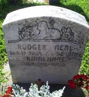 RINEHART, RODGER NEAL - Ross County, Ohio | RODGER NEAL RINEHART - Ohio Gravestone Photos