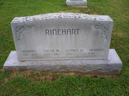 RINEHART, LOTTIE M. - Ross County, Ohio | LOTTIE M. RINEHART - Ohio Gravestone Photos