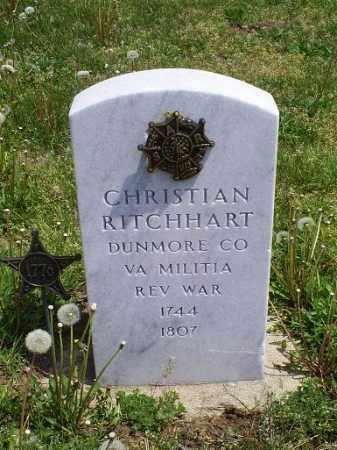 RITCHHART, CHRISTIAN - Ross County, Ohio | CHRISTIAN RITCHHART - Ohio Gravestone Photos