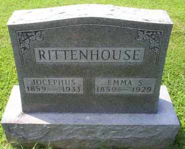 RITTENHOUSE, JOCEPHUS - Ross County, Ohio | JOCEPHUS RITTENHOUSE - Ohio Gravestone Photos