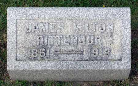 RITTENOUR, JAMES MILTON - Ross County, Ohio | JAMES MILTON RITTENOUR - Ohio Gravestone Photos