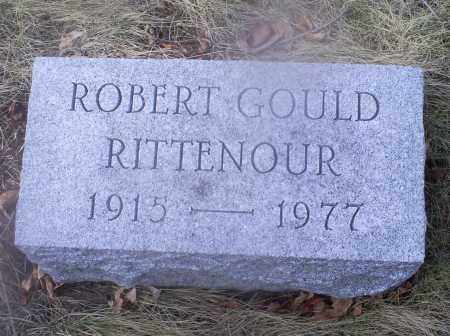RITTENOUR, ROBERT GOULD - Ross County, Ohio | ROBERT GOULD RITTENOUR - Ohio Gravestone Photos