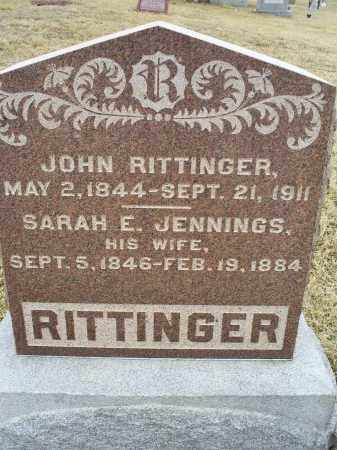 RITTINGER, JOHN - Ross County, Ohio | JOHN RITTINGER - Ohio Gravestone Photos