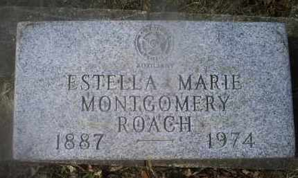 MONTGOMERY ROACH, ESTELLA MARIE - Ross County, Ohio | ESTELLA MARIE MONTGOMERY ROACH - Ohio Gravestone Photos