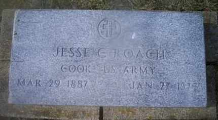 ROACH, JESSE G. - Ross County, Ohio | JESSE G. ROACH - Ohio Gravestone Photos