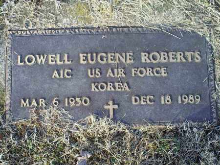 ROBERTS, LOWELL EUGENE - Ross County, Ohio | LOWELL EUGENE ROBERTS - Ohio Gravestone Photos