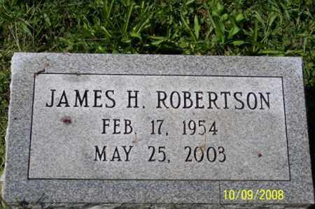 ROBERTSON, JAMES H. - Ross County, Ohio | JAMES H. ROBERTSON - Ohio Gravestone Photos