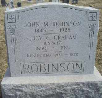 ROBINSON, JOHN M. - Ross County, Ohio | JOHN M. ROBINSON - Ohio Gravestone Photos