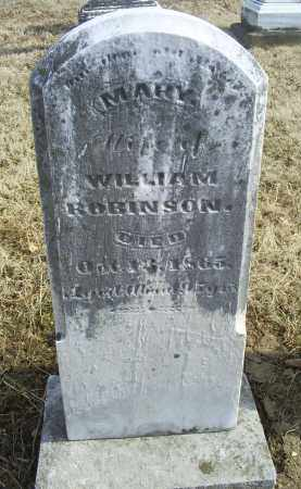 ROBINSON, MARY - Ross County, Ohio | MARY ROBINSON - Ohio Gravestone Photos