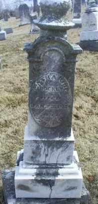 ROCKY, CATHARINE - Ross County, Ohio | CATHARINE ROCKY - Ohio Gravestone Photos