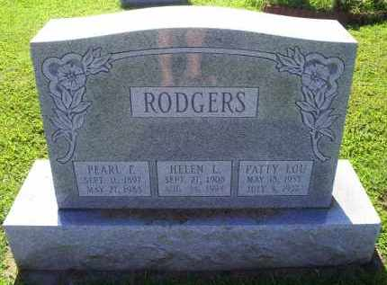 RODGERS, PATTY LOU - Ross County, Ohio | PATTY LOU RODGERS - Ohio Gravestone Photos